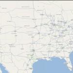 OpenStreetMap of USA