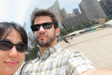 Us at Millenium Park