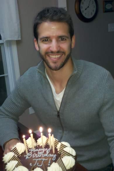 11110th Birthday Cake