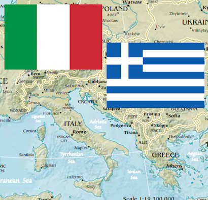 Italy greece vacation zepfanman italy greece gumiabroncs Choice Image