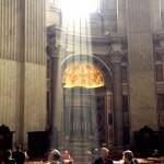 Sunbeam in St. Peter's