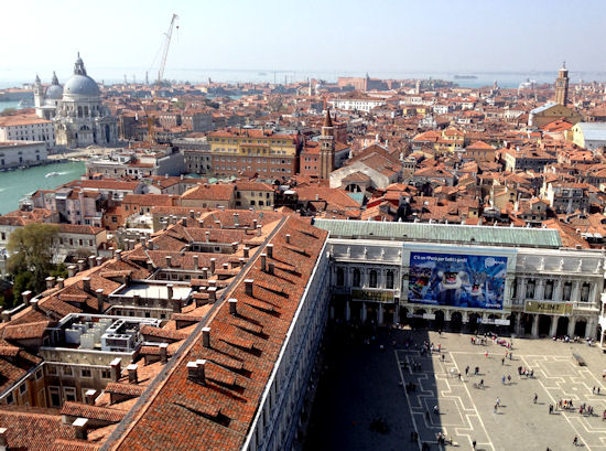 St. Mark's Square from the Campanile