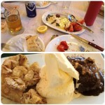 Dinner and dessert in Athens
