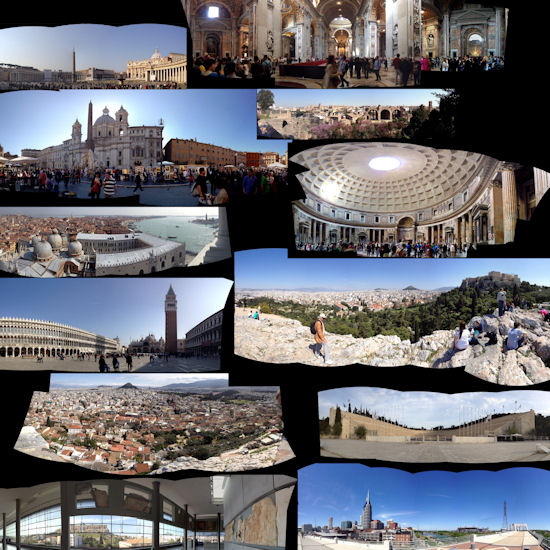 3D Photosynth mosaic