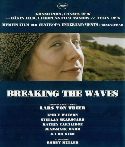 Breaking the Waves - Swedish DVD cover