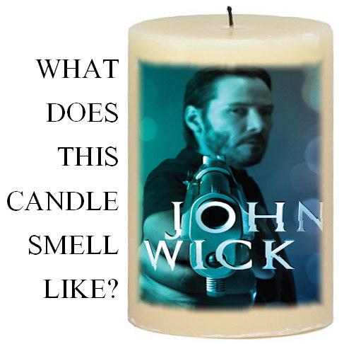 John Wick Candle