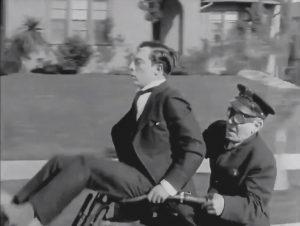 Sherlock Jr. 1924. Keaton.