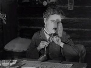 Gold Rush. 1925. Chaplin.