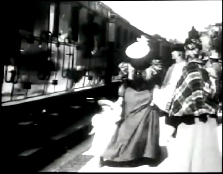 Arrival of a Train at Ciotat. 1895. Lumiere.