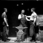 Blacksmith Scene. 1893. Dickson.