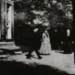 Roundhay Garden Scene. 1888. Le Prince.