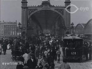 The Maasbrug in Rotterdam. 1901? Nöggerath?