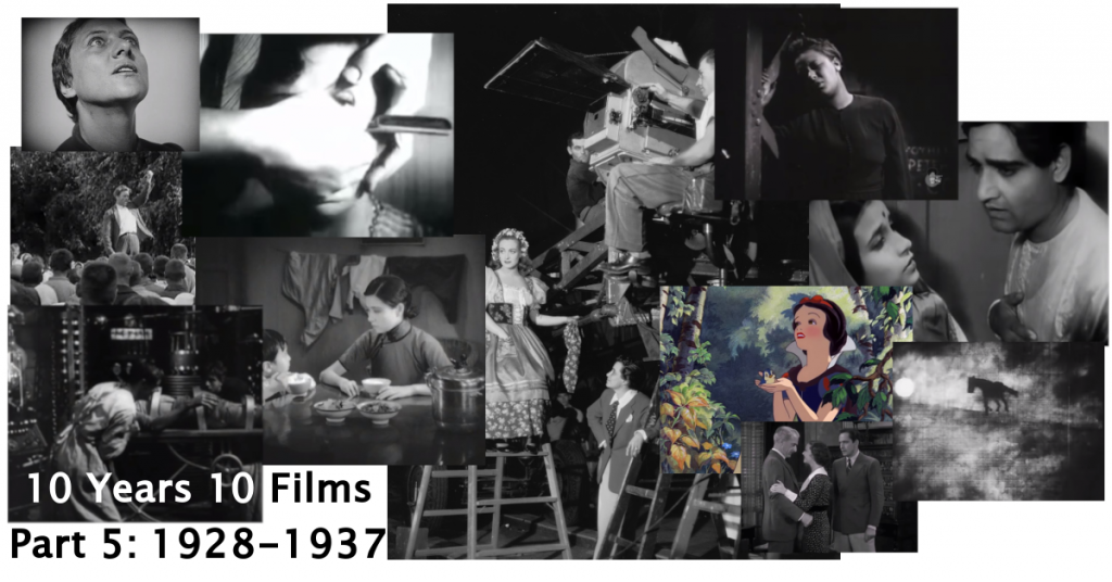 World cinema 1928-1937