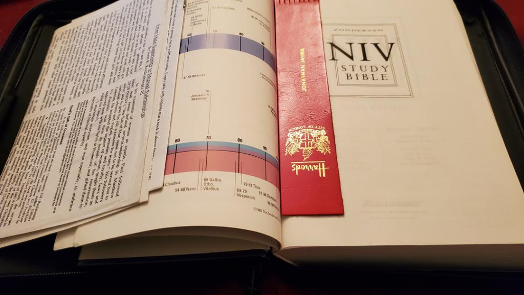 NIV Study Bible, 2002